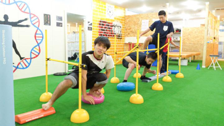 アスレチックトレーニング!!
